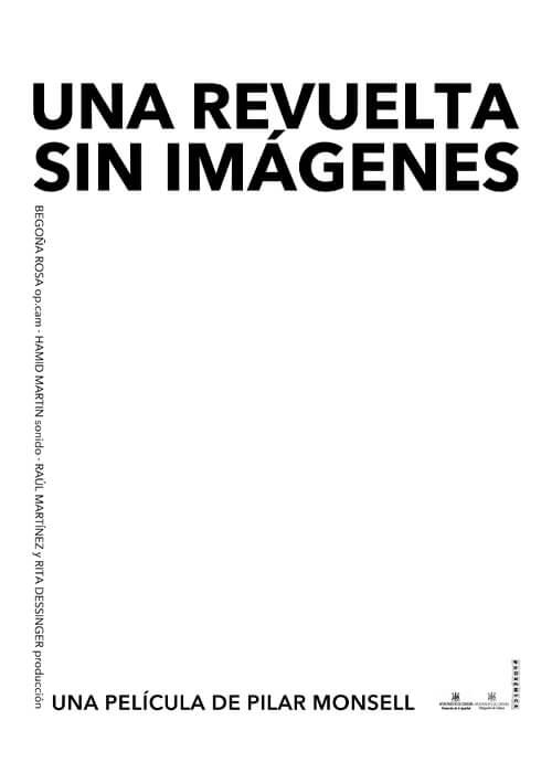 Una revuelta sin imágenes